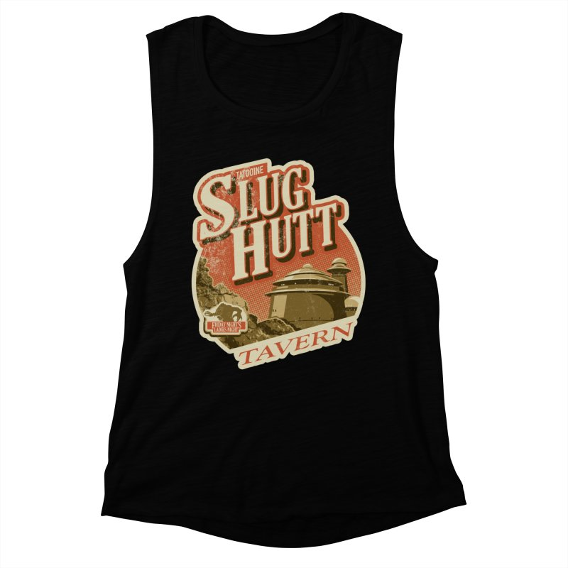 Slug Hutt Women's Muscle Tank by Stephen Hartman Illustration Shop