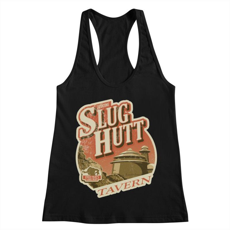 Slug Hutt Women's Racerback Tank by Stephen Hartman Illustration Shop