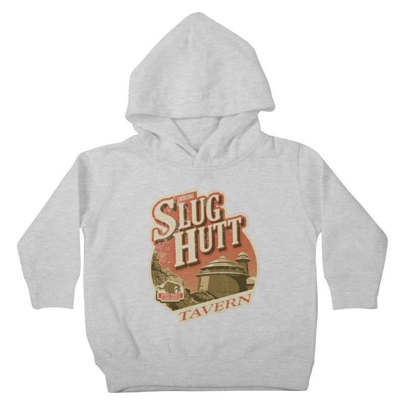 Slug Hutt Kids Toddler Pullover Hoody by Stephen Hartman Illustration Shop