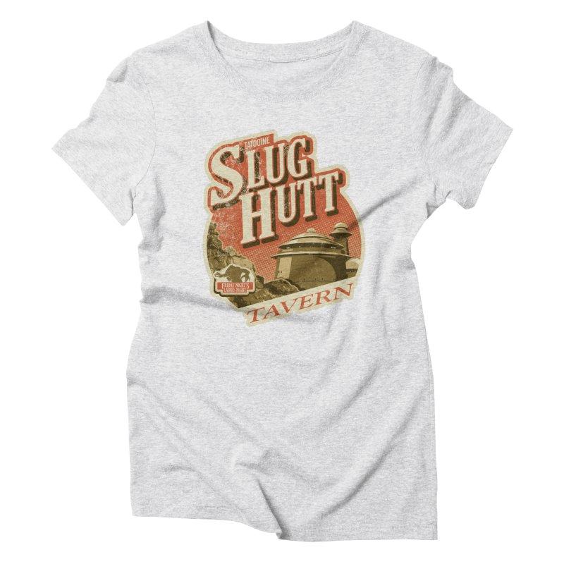 Slug Hutt Women's T-Shirt by Stephen Hartman Illustration Shop