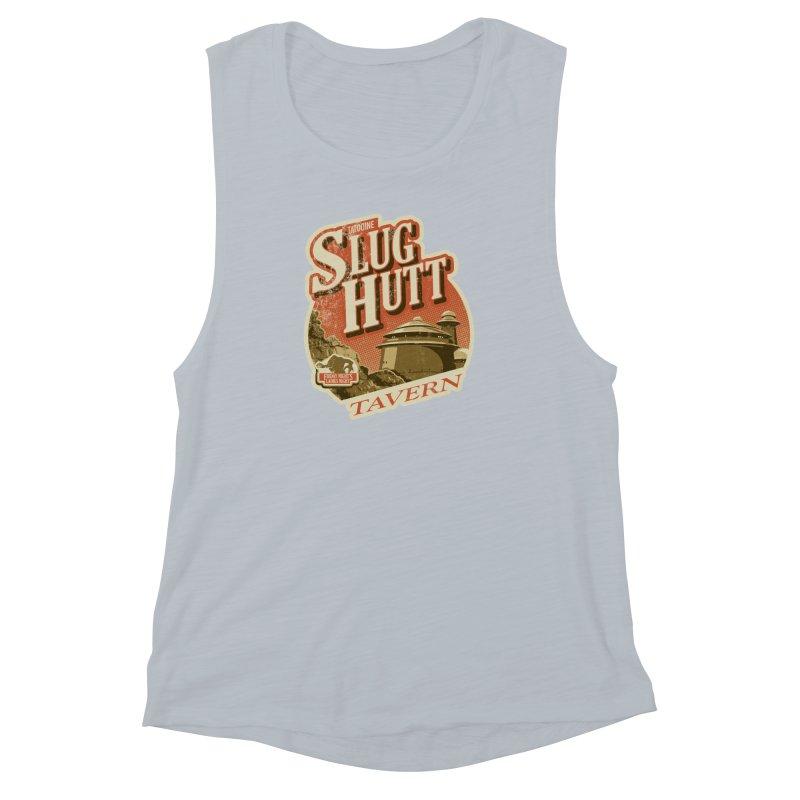 Slug Hutt Women's Muscle Tank by Stephen Hartman Illustration Shop