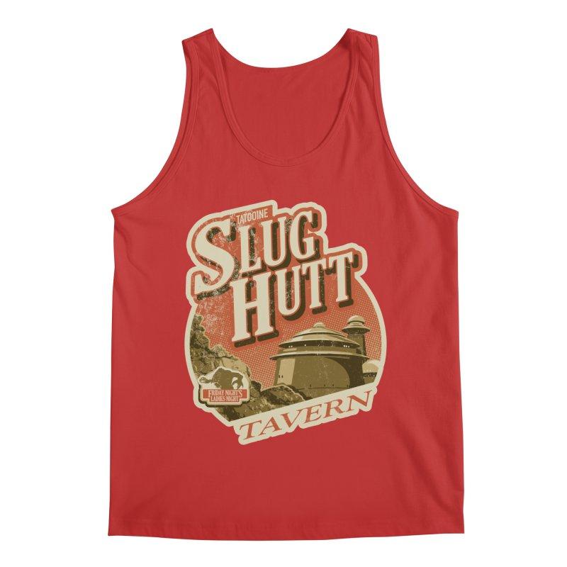 Slug Hutt Men's Regular Tank by Stephen Hartman Illustration Shop