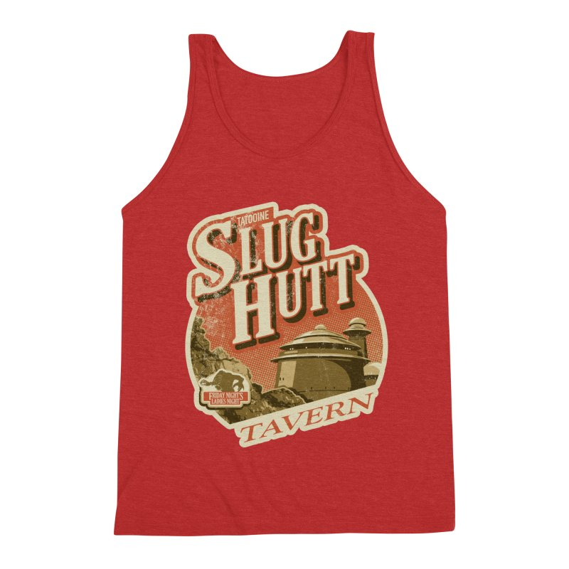 Slug Hutt Men's Triblend Tank by Stephen Hartman Illustration Shop