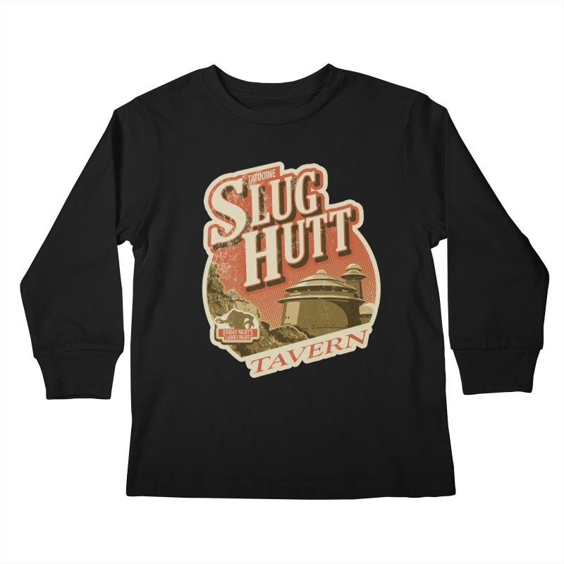Slug Hutt Kids Longsleeve T-Shirt by Stephen Hartman Illustration Shop