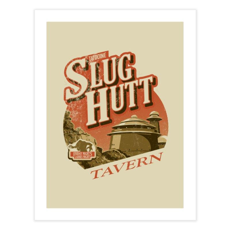 Slug Hutt Home Fine Art Print by Stephen Hartman Illustration Shop