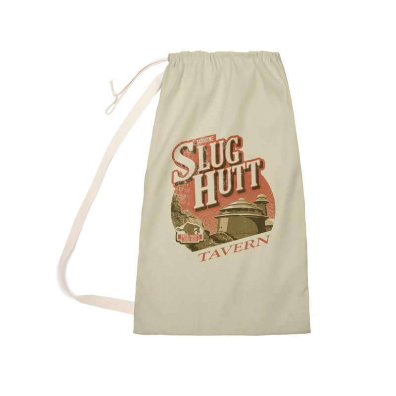 Slug Hutt Accessories Laundry Bag Bag by Stephen Hartman Illustration Shop