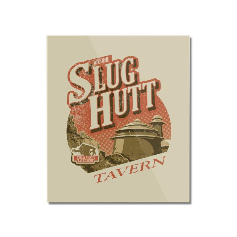 Slug Hutt Home Mounted Acrylic Print by Stephen Hartman Illustration Shop