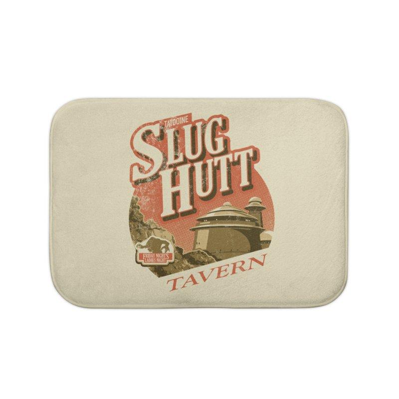 Slug Hutt Home Bath Mat by Stephen Hartman Illustration Shop