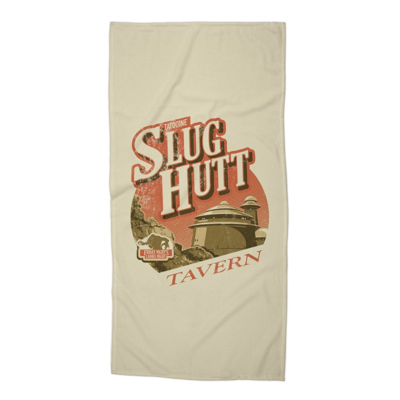 Slug Hutt Accessories Beach Towel by Stephen Hartman Illustration Shop