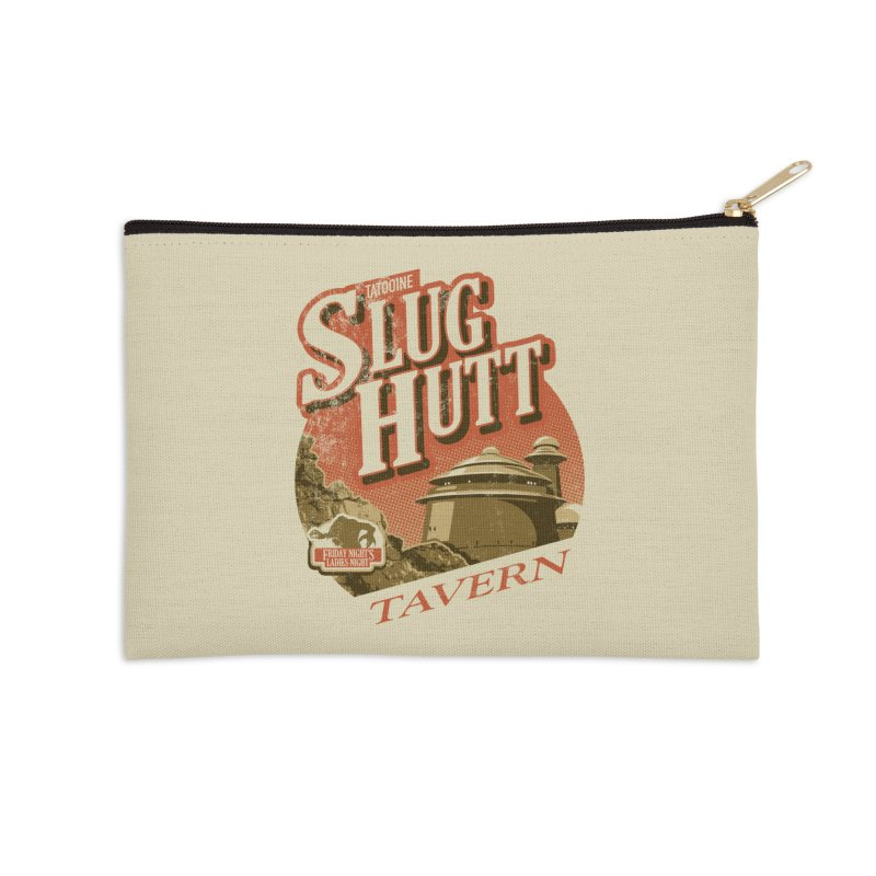 Slug Hutt Accessories Zip Pouch by Stephen Hartman Illustration Shop