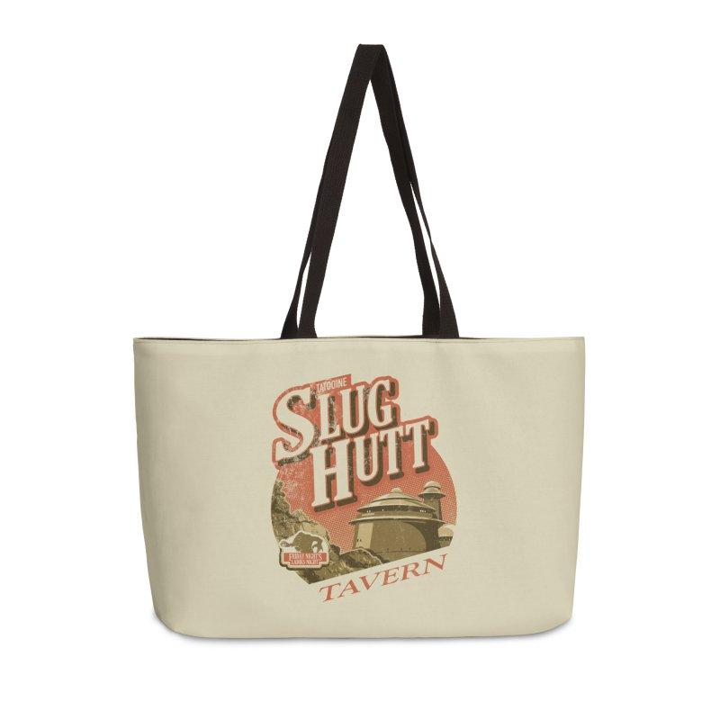 Slug Hutt Accessories Weekender Bag Bag by Stephen Hartman Illustration Shop