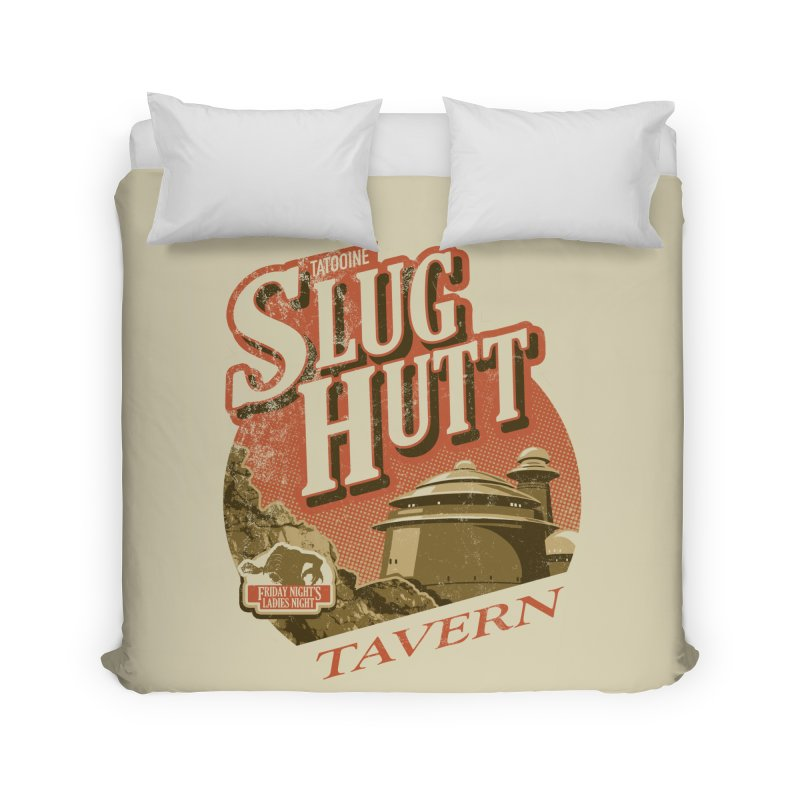 Slug Hutt Home Duvet by Stephen Hartman Illustration Shop