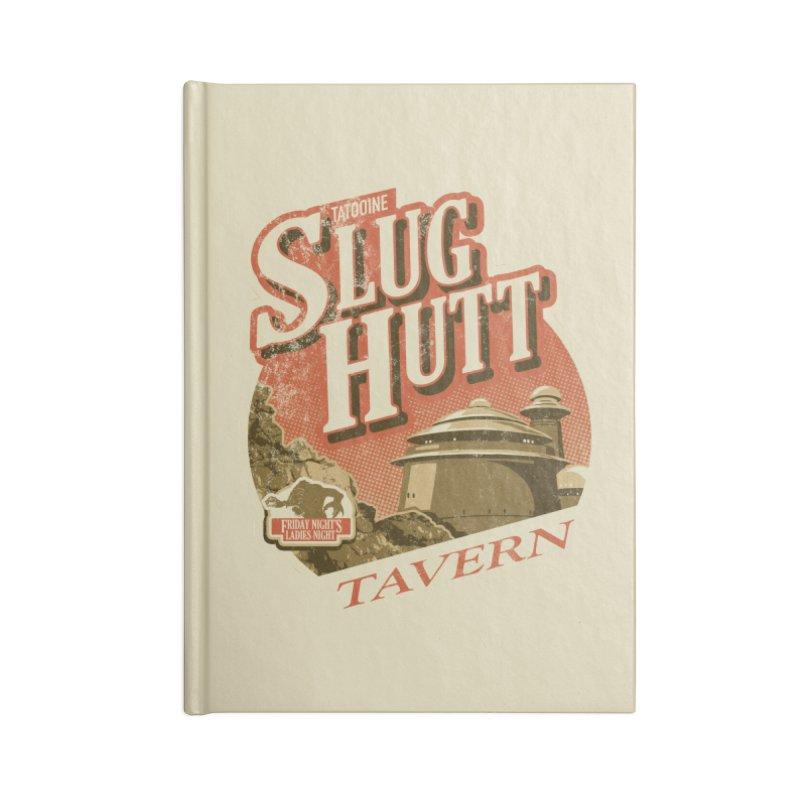 Slug Hutt Accessories Blank Journal Notebook by Stephen Hartman Illustration Shop