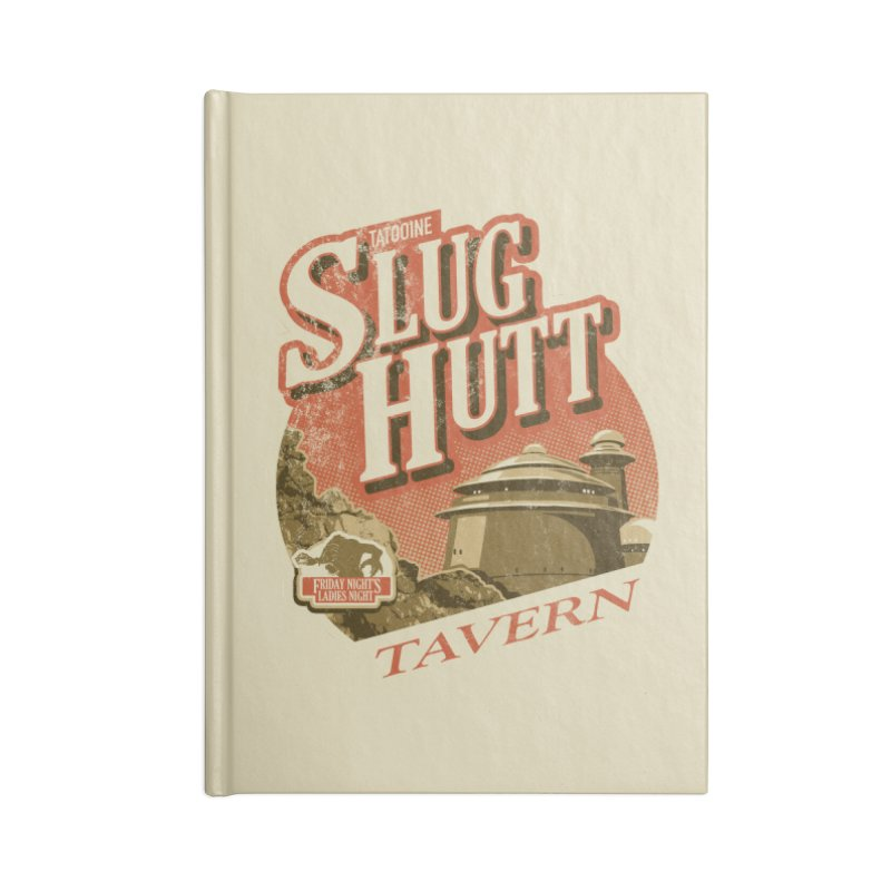 Slug Hutt Accessories Lined Journal Notebook by Stephen Hartman Illustration Shop