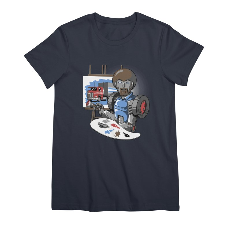 Auto-BOBs Women's Premium T-Shirt by Stephen Hartman Illustration Shop