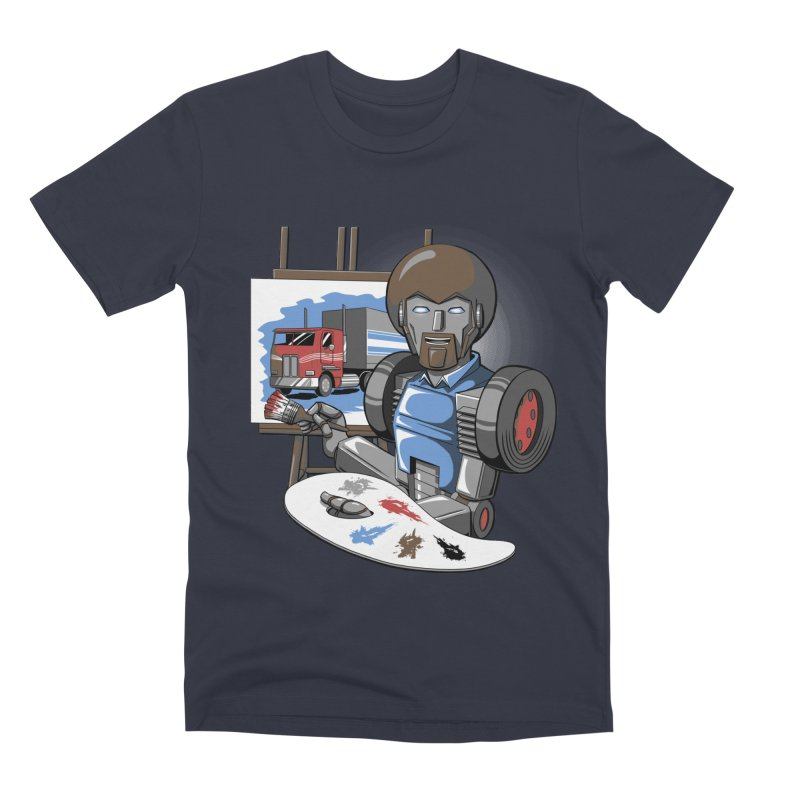 Auto-BOBs Men's Premium T-Shirt by Stephen Hartman Illustration Shop