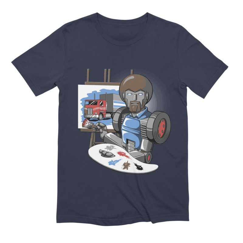 Auto-BOBs Men's Extra Soft T-Shirt by Stephen Hartman Illustration Shop