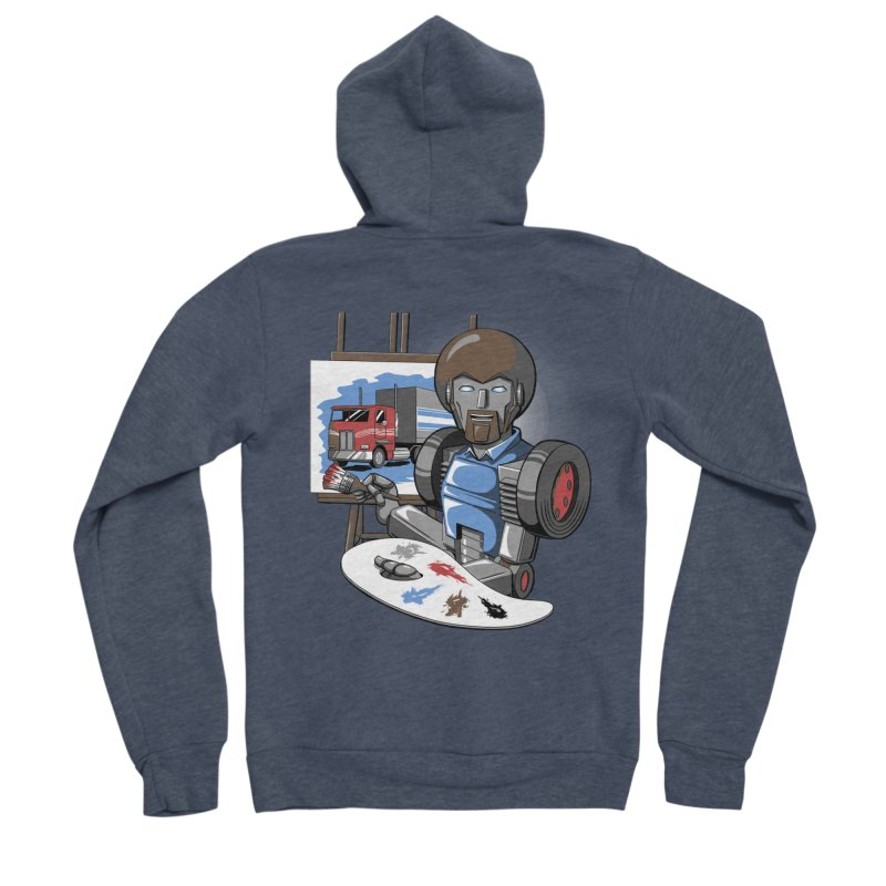 Auto-BOBs Men's Sponge Fleece Zip-Up Hoody by Stephen Hartman Illustration Shop