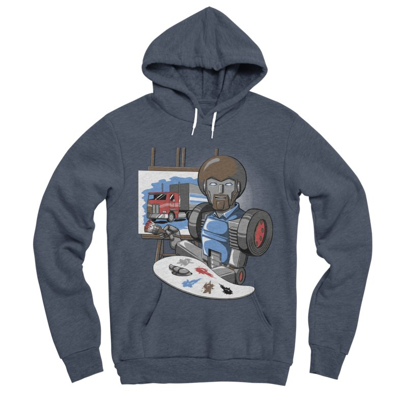 Auto-BOBs Men's Sponge Fleece Pullover Hoody by Stephen Hartman Illustration Shop