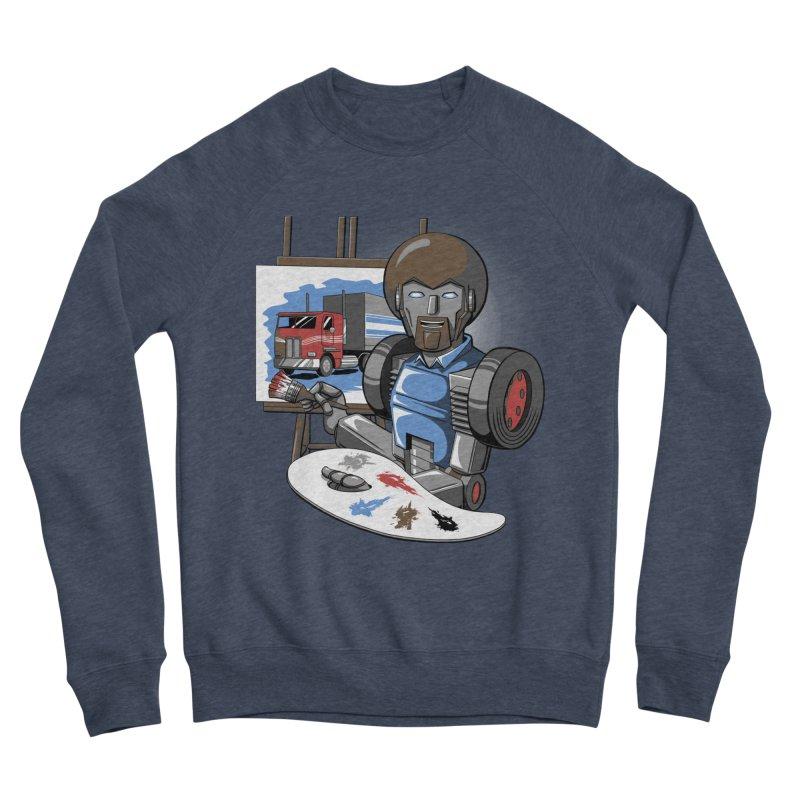 Auto-BOBs Men's Sponge Fleece Sweatshirt by Stephen Hartman Illustration Shop