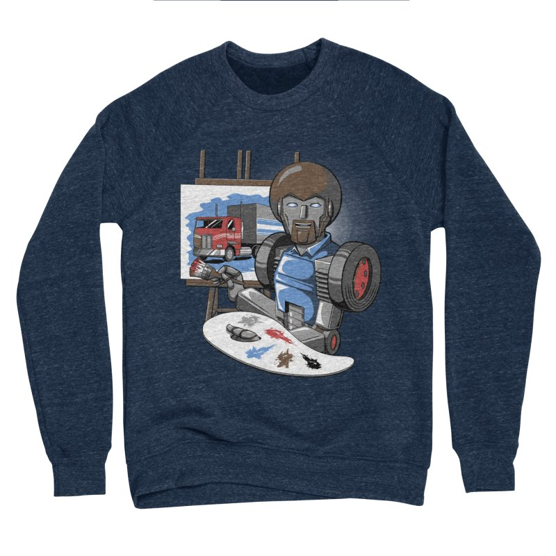 Auto-BOBs Men's Sponge Fleece Sweatshirt by Stephen Hartman Illustration Shop
