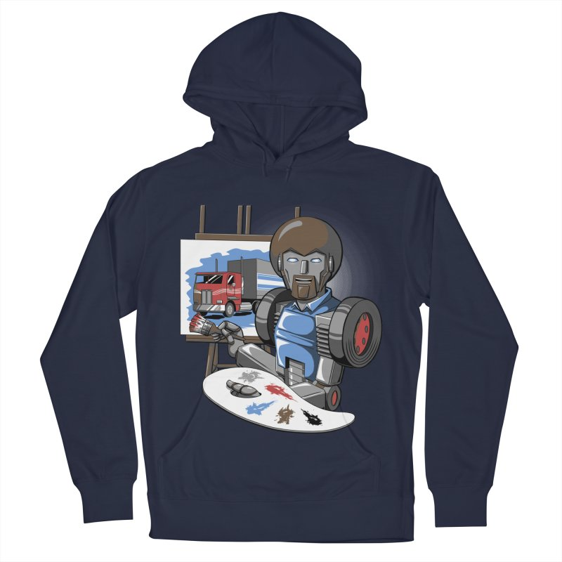 Auto-BOBs Men's French Terry Pullover Hoody by Stephen Hartman Illustration Shop