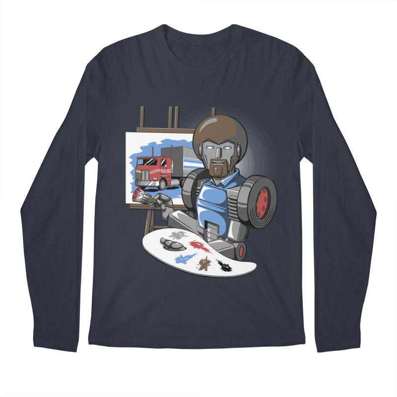 Auto-BOBs Men's Regular Longsleeve T-Shirt by Stephen Hartman Illustration Shop