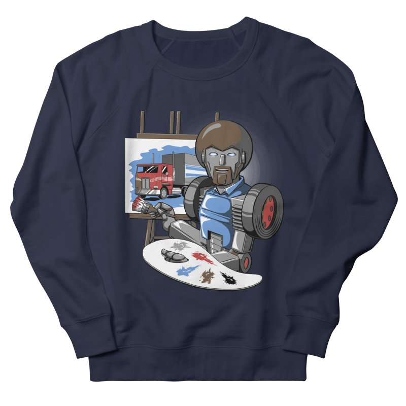 Auto-BOBs Men's French Terry Sweatshirt by Stephen Hartman Illustration Shop