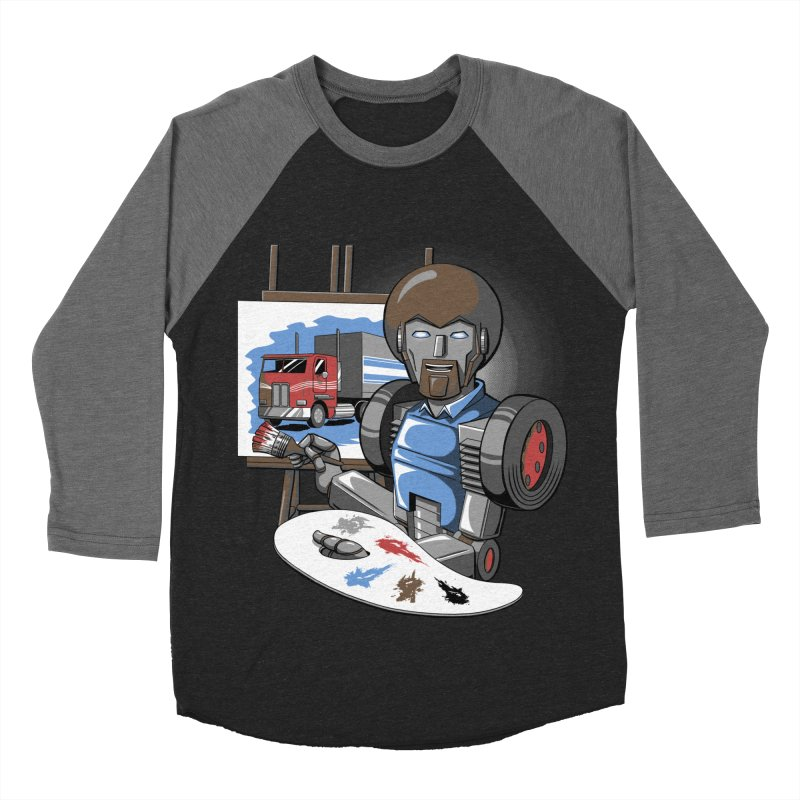 Auto-BOBs Women's Baseball Triblend Longsleeve T-Shirt by Stephen Hartman Illustration Shop