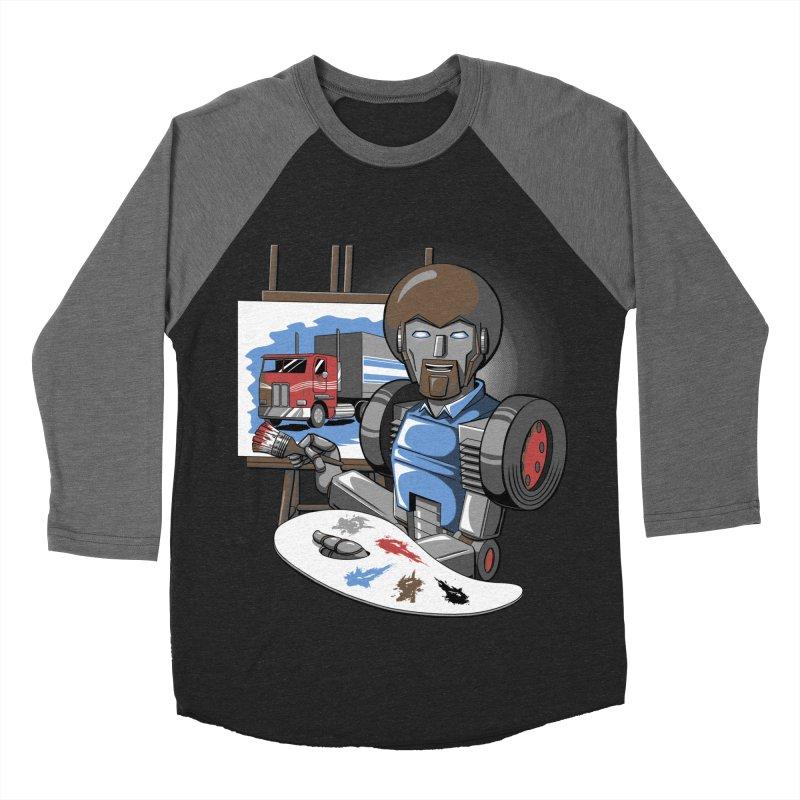 Auto-BOBs Men's Baseball Triblend Longsleeve T-Shirt by Stephen Hartman Illustration Shop
