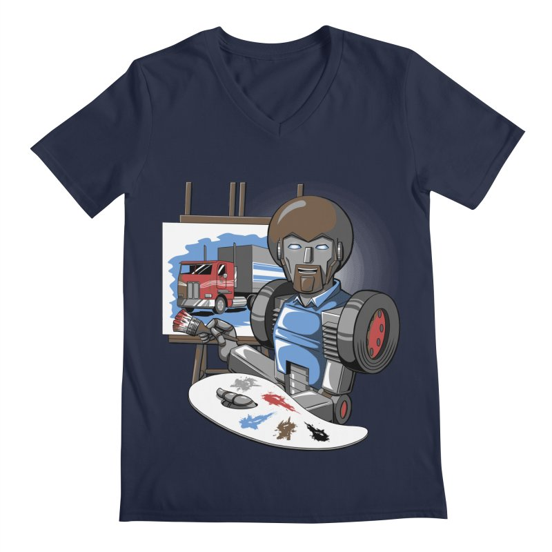 Auto-BOBs Men's Regular V-Neck by Stephen Hartman Illustration Shop