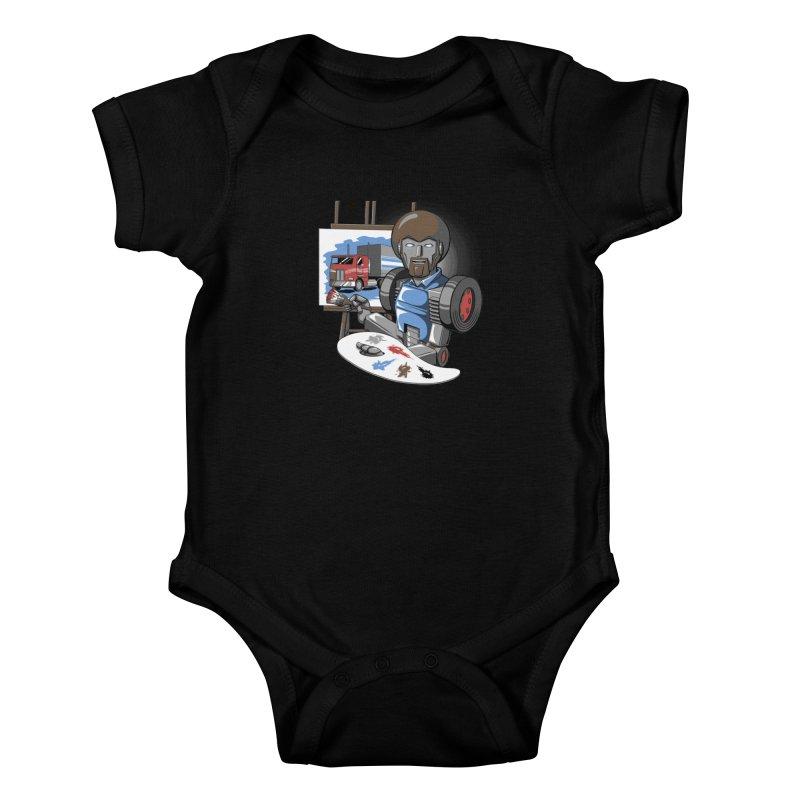 Auto-BOBs Kids Baby Bodysuit by Stephen Hartman Illustration Shop