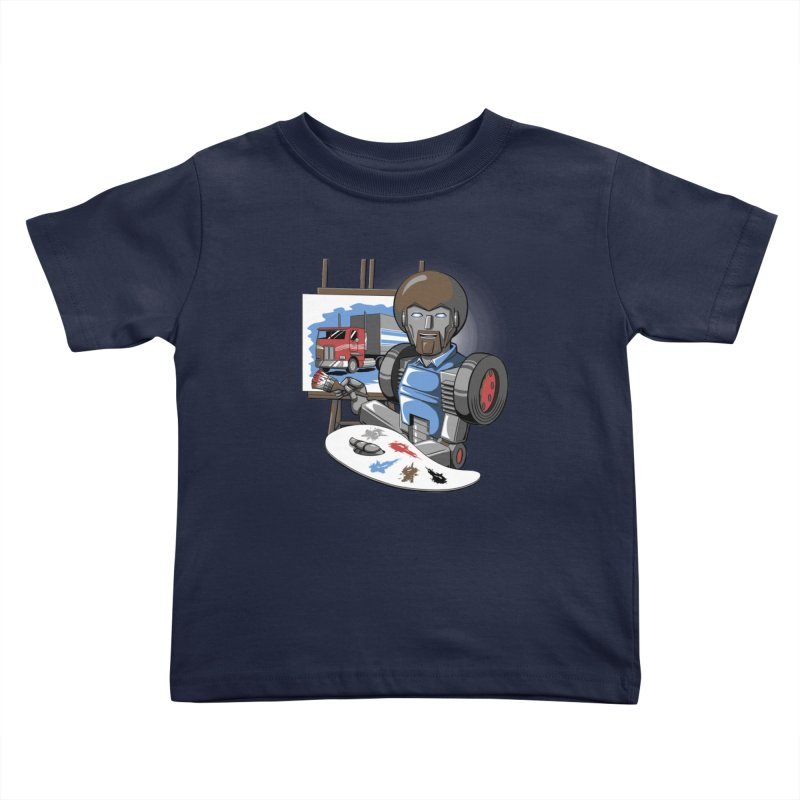 Auto-BOBs Kids Toddler T-Shirt by Stephen Hartman Illustration Shop