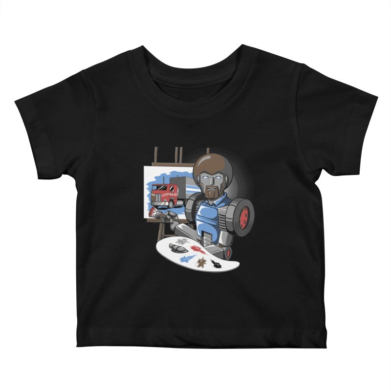 Auto-BOBs Kids Baby T-Shirt by Stephen Hartman Illustration Shop
