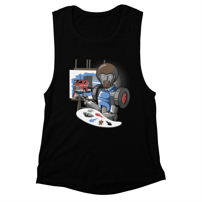 Auto-BOBs Women's Muscle Tank by Stephen Hartman Illustration Shop