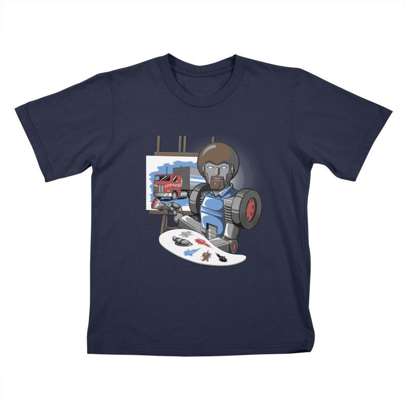 Auto-BOBs Kids T-Shirt by Stephen Hartman Illustration Shop