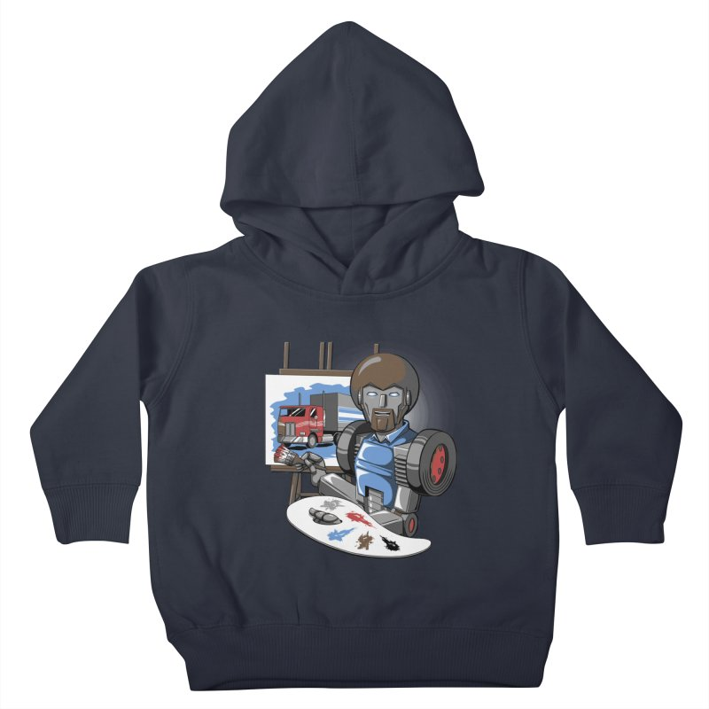 Auto-BOBs Kids Toddler Pullover Hoody by Stephen Hartman Illustration Shop