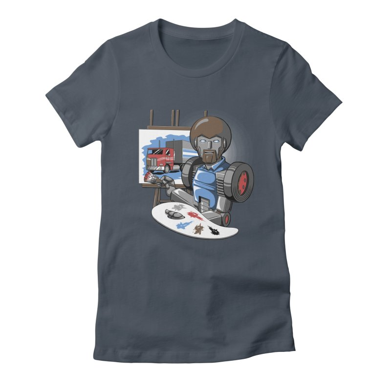 Auto-BOBs Women's Fitted T-Shirt by Stephen Hartman Illustration Shop