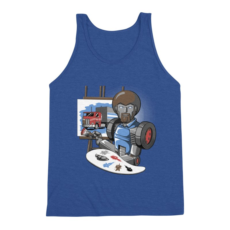 Auto-BOBs Men's Triblend Tank by Stephen Hartman Illustration Shop