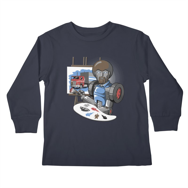 Auto-BOBs Kids Longsleeve T-Shirt by Stephen Hartman Illustration Shop