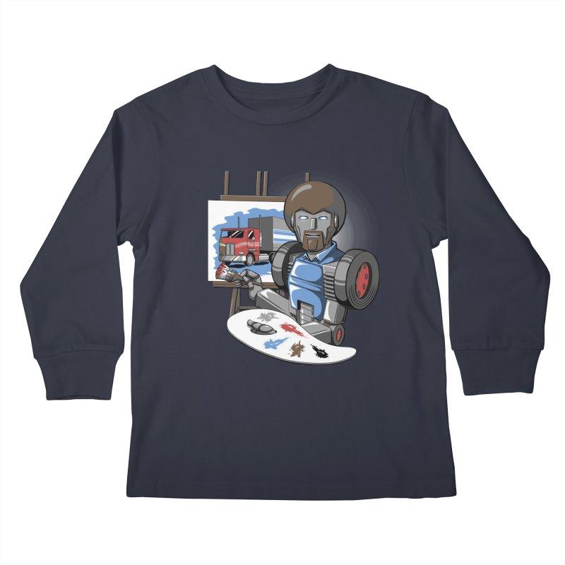 Auto-BOBs Kids Longsleeve T-Shirt by Stephen Hartman Illustration Shop