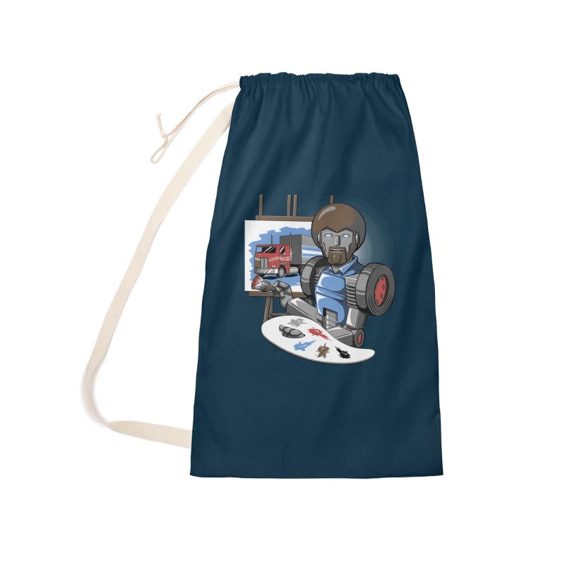 Auto-BOBs Accessories Laundry Bag Bag by Stephen Hartman Illustration Shop