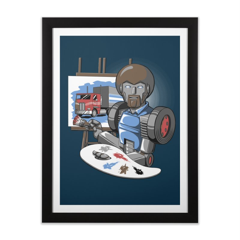 Auto-BOBs Home Framed Fine Art Print by Stephen Hartman Illustration Shop