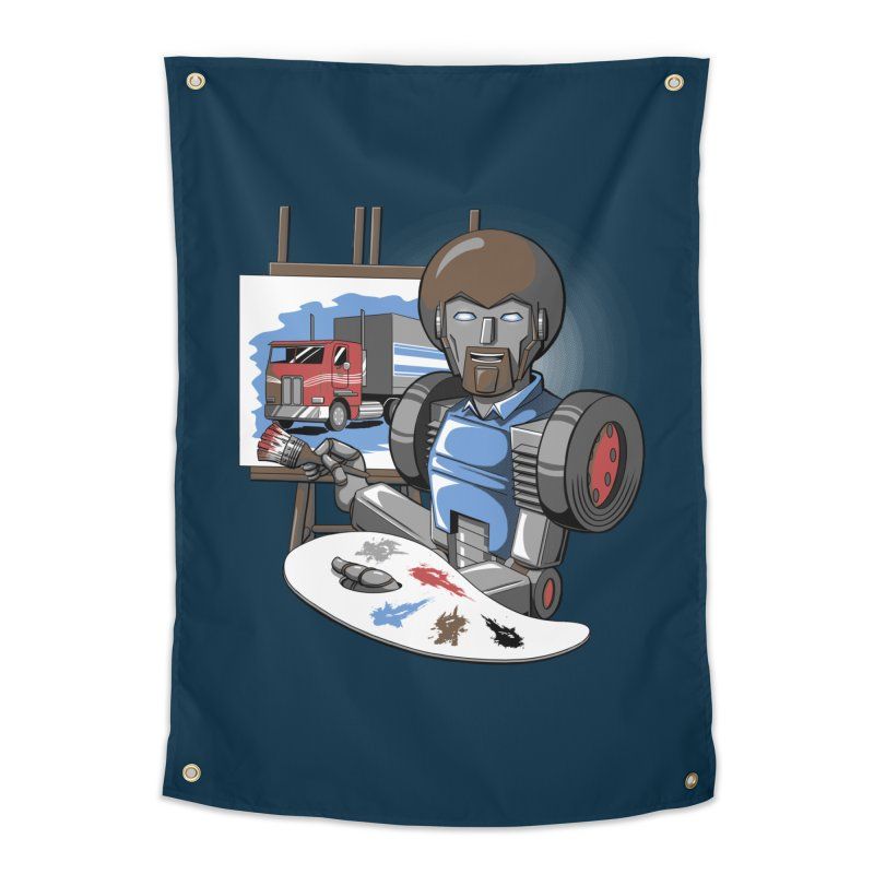 Auto-BOBs Home Tapestry by Stephen Hartman Illustration Shop