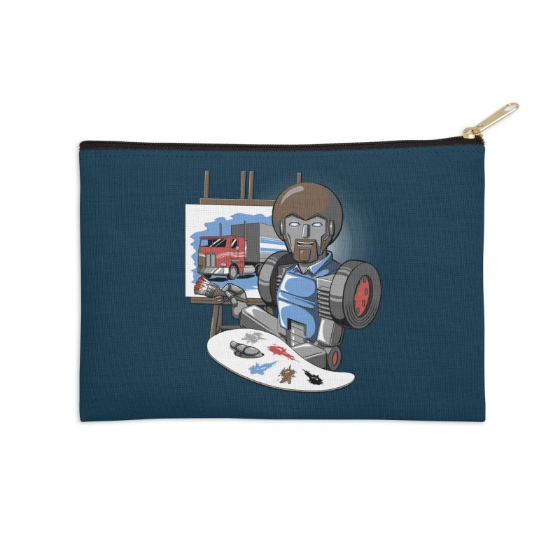 Auto-BOBs Accessories Zip Pouch by Stephen Hartman Illustration Shop