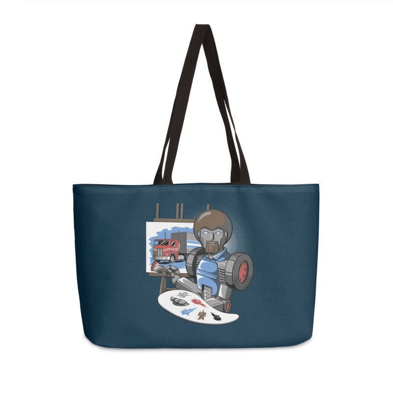 Auto-BOBs Accessories Weekender Bag Bag by Stephen Hartman Illustration Shop