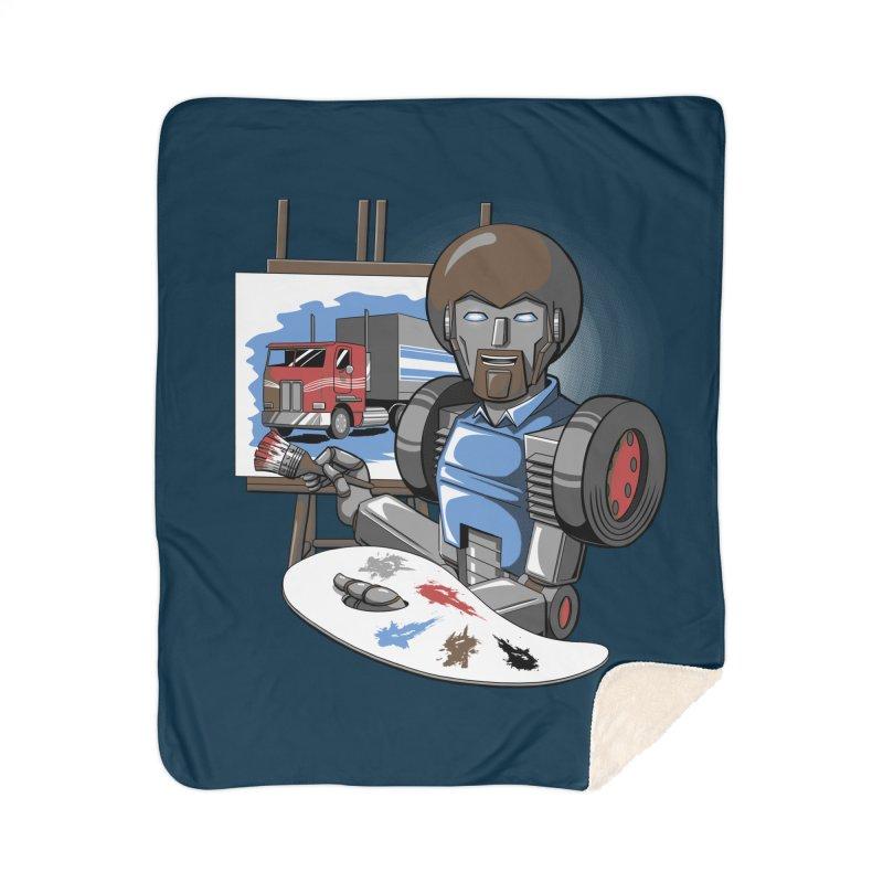 Auto-BOBs Home Sherpa Blanket Blanket by Stephen Hartman Illustration Shop