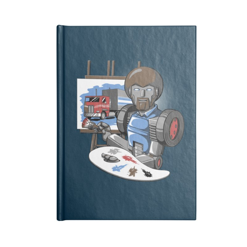 Auto-BOBs Accessories Lined Journal Notebook by Stephen Hartman Illustration Shop