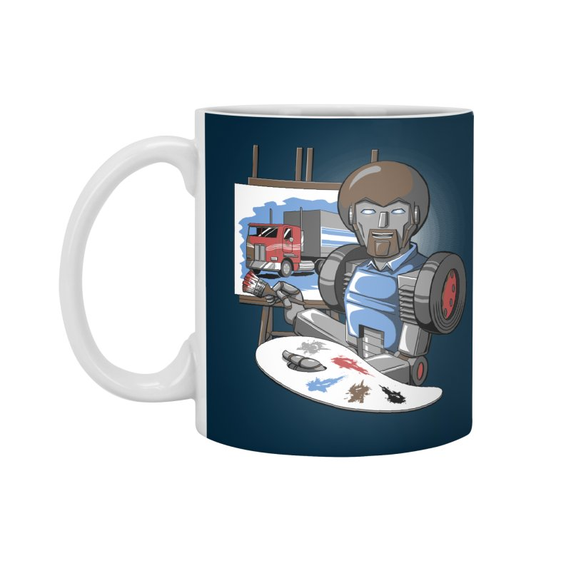 Auto-BOBs Accessories Standard Mug by Stephen Hartman Illustration Shop