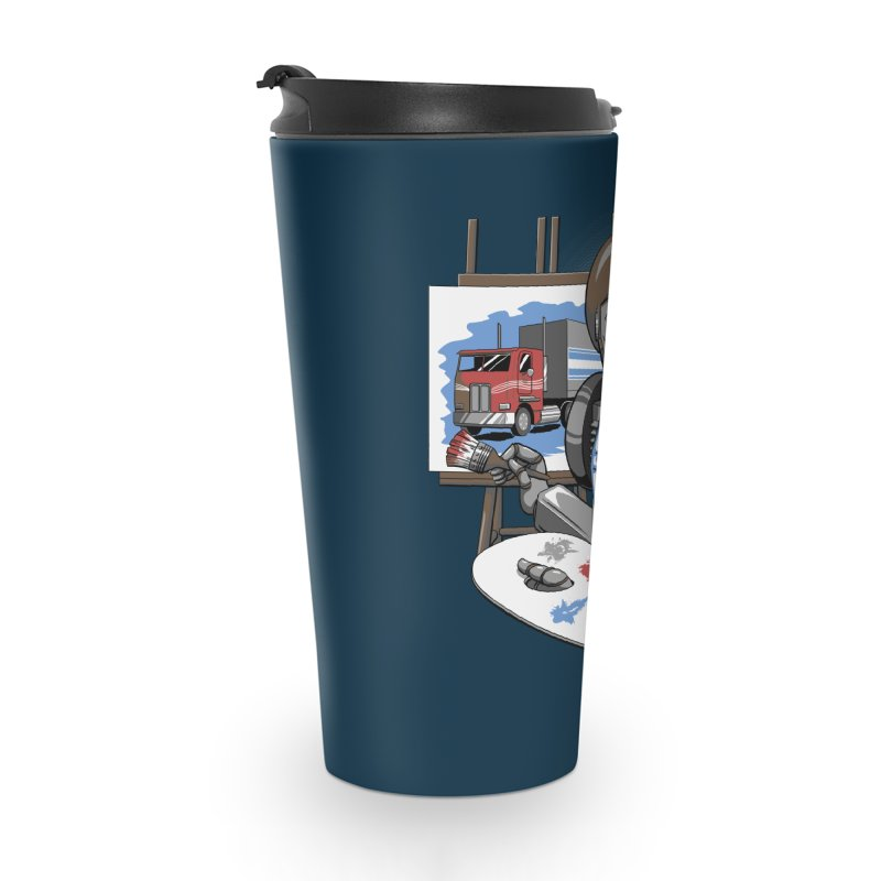 Auto-BOBs Accessories Travel Mug by Stephen Hartman Illustration Shop